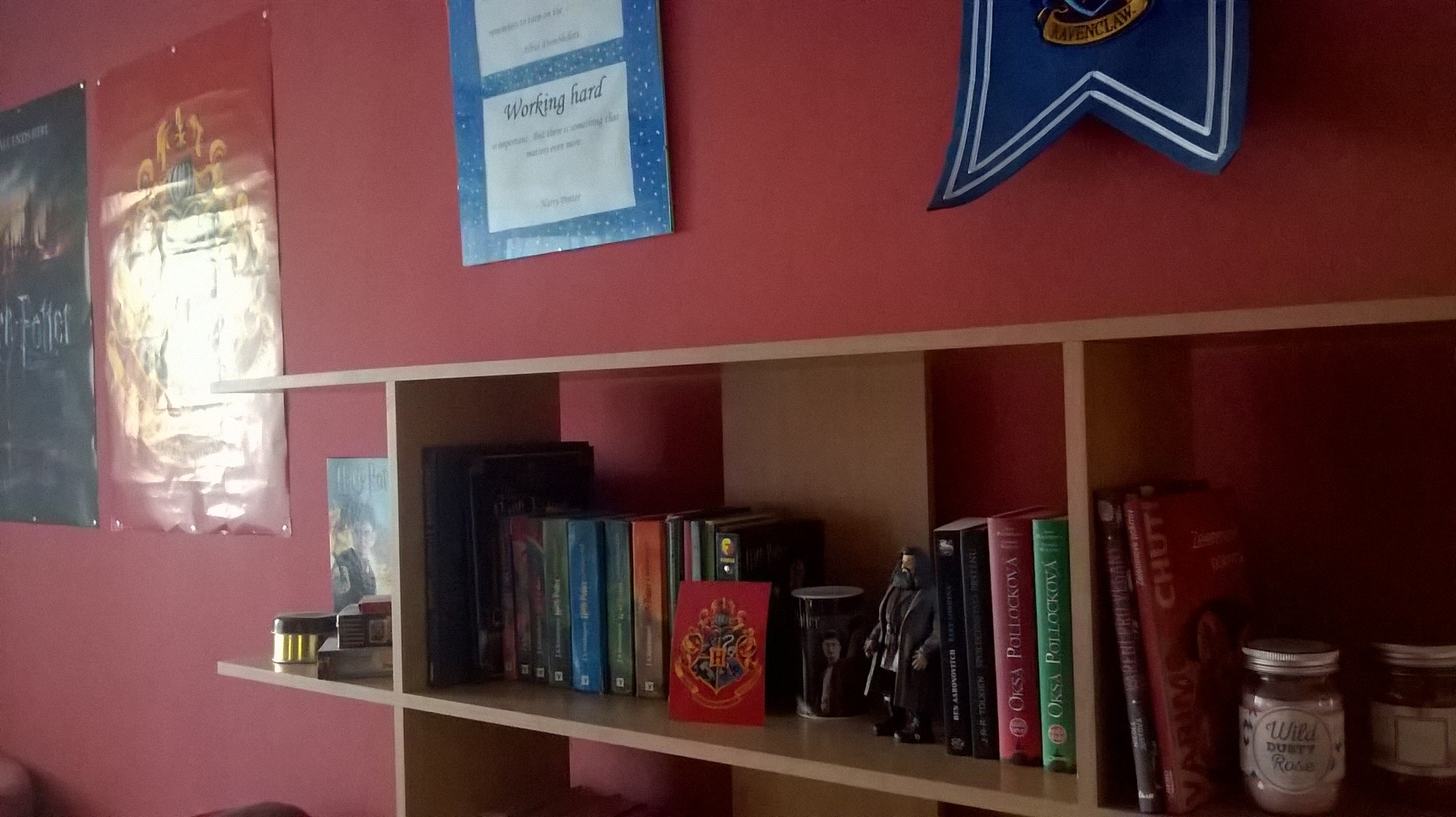 harry potter fan room