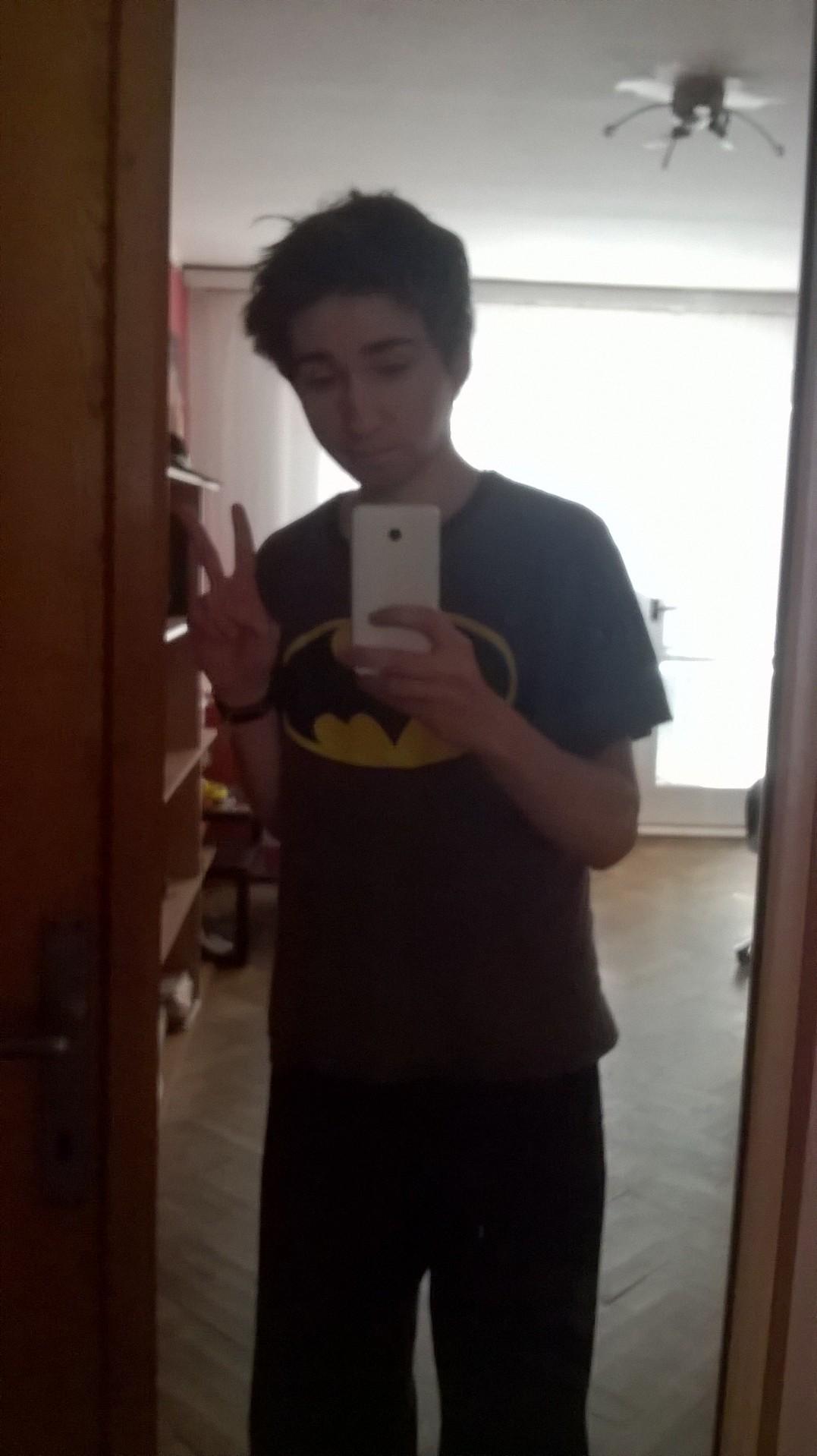 hikaru tenshin hokonono peace batman pajamas mirror